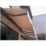 toldo retrátil cortina no Brás